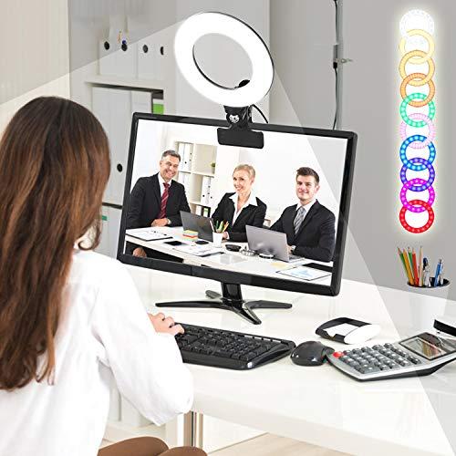 RGBW Clip LED Ring Light 6