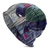 Gorro de Punto SPI-Der-Man Beanie Sombreros de Punto para Hombres y Mujeres Gorro de Calavera Liso con puños Gorro de Punto de Invierno Gorro de Skully cálido y Holgado Ligero