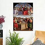 Ayjxtz Puzzle 1000 Piezas Virgen María Personaje Imagen Obra De Arte Pintura Puzzle 1000 Piezas Juego de Habilidad para Toda la Familia, Colorido Juego de ubicación.50x75cm(20x30inch)