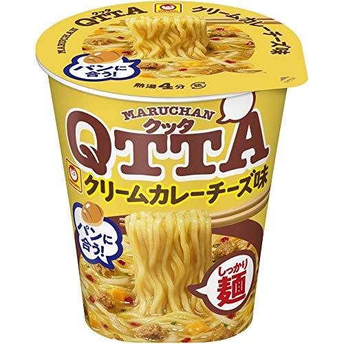 マルちゃん MARUHAN QTTA クリームカレーチーズ味 83g ×12個