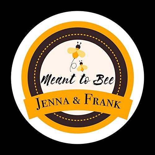 CUSTOM Meant to Bee, Wedding Favor Stickers, Honey Jar Favor, Wedding Stickers, Honey Favor Labels