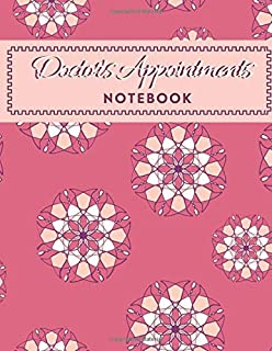 "Doctor's Appointments Notebook: Patients Appointment Logbook, Track and Record Clients/Patients Attendance Bookings, Daily Weekly Monthly, Gifts for ... 8.5"" x 11"", 110 (Clinical Patients Log)"