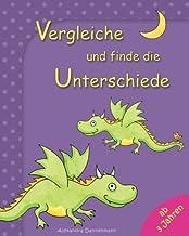 Vergleiche und finde die Unterschiede: Rätselspaß für Kinder ab 3 Jahren (German Edition)