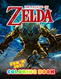 Fun 'N' Joy - The Legend of Zelda Coloring Book: A Beautiful Coloring Book For Adults With Many Stunning The Legend Of Zelda Designs