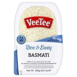VeeTee Rice & Tasty Basmati - Microwavable Instant Rice - 9.9 oz - Pack of 6