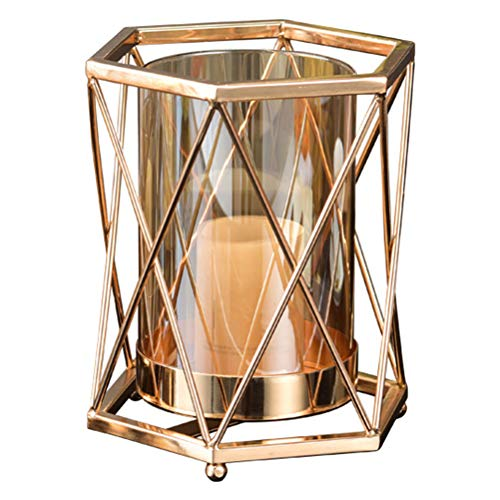 SOIMISS Elegant Desktop Candleholder Entry Lux Candlestick Household Candle Cup