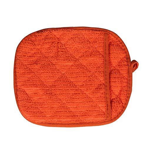 Anti-scalding Handschoenen Handdoek Isolatie Hoge Temperatuur Resistant Magnetron Oven Veiligheid L-Two pieces ORANJE