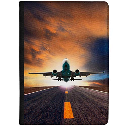 Azzumo Plane Taking Off Faux Leather Case Cover/Folio for the Samsung Galaxy Tab S3 (9.7) (2017)