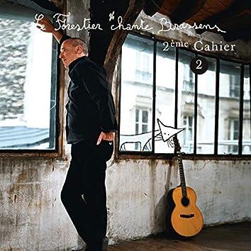 Le Forestier chante Brassens Cahier 2 - Vol 2