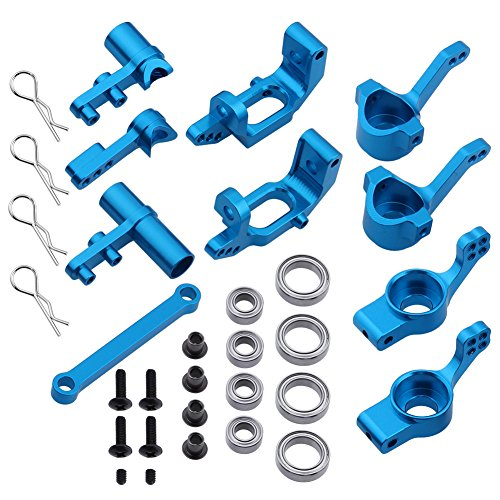 Hobbypark 102010 102011 102012 122057 Aluminum Steering Knuckle Hub Carrier Servo Saver Ackerman Plate Upgrade Parts for Redcat Volcano EPX