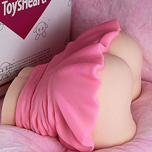 YXHM E 3D Naturgetreue □ ucking for Frauen Torso Do-ll TPE Dolls Silikon Liebespuppe Doles for Männer Weiblich Spielzeug mit 2 Öffnungs Spielzeug
