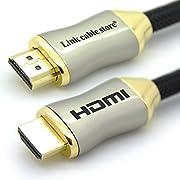 LCS - ORION XS - 7,5M - Câble HDMI 1.4 - 2.0 - 2.0 a/b - Professionnel - 3D - Ultra HD 4K 2160p - Full HD 1080p - ARC - CEC - High Speed par Ethernet - Connecteurs plaqués or