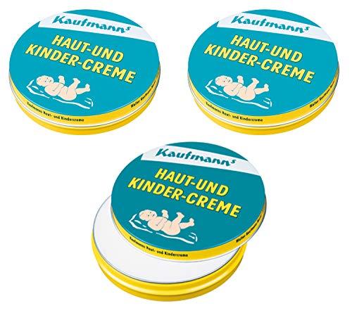 Kaufmanns Haut- und Kindercreme 30ml, 3er Pack (3 x 30 ml)