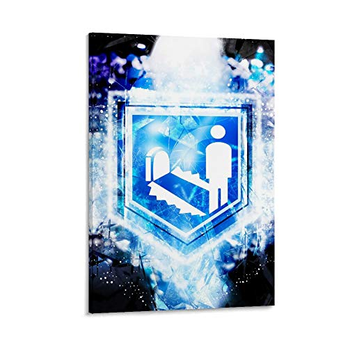 Call of Duty Quick Revive Perk Posters para habitación estética, exquisita decoración de pasillo de arte 30 x 45 cm