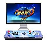 L&U Pandora's Box 9 Multiplayer-Joystick und -Tasten Arcade-Konsole, Arcade-Spielautomaten für zu...