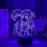 DGUOHAC Decoración del Dormitorio lámpara de Noche Regalo de cumpleaños lámpara de Noche