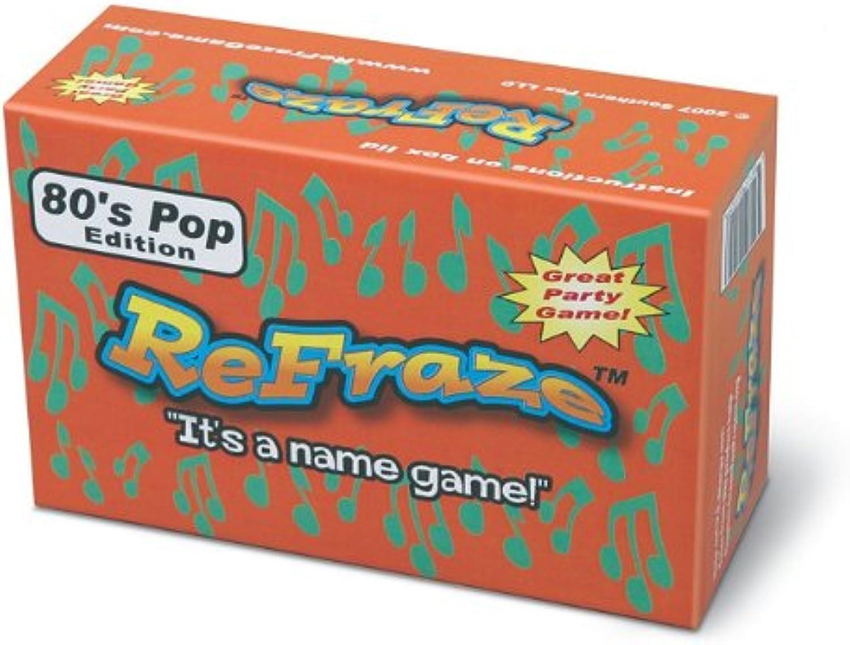 ReFraze 80's Pop Edition Card Game