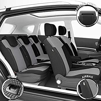 Sur Mesure Isofix Finition Haut de Gamme Montage Rapide Compatible Airbag DBS 1011522 Housse de si/ège Auto // Voiture