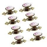 Ebeta 10 x Maniglie e pomelli cassetti Manopola per mobili Manopola Armadio Manopole Manop...
