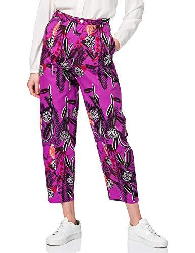 Desigual Pant_Sullivan Pantalones Informales, Rojo, XL para Mujer