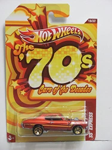 Hot Wheels 70's Cars Of The Decades SS Express Dark Orange by Mattel
