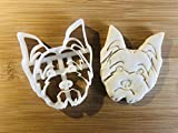 Yorkshire Terrier Cookie Cutter and Dog Treat Cutter - Yorkie Dog Face