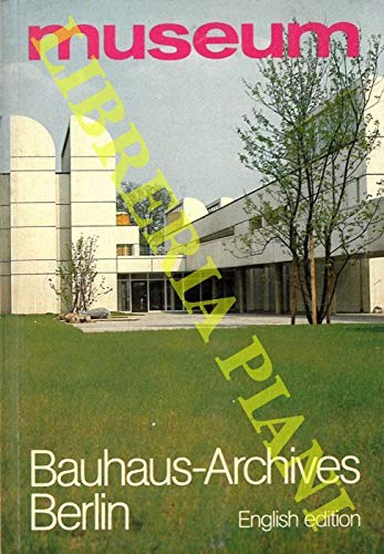 The Bauhaus Archives Berlin. Museum of design.