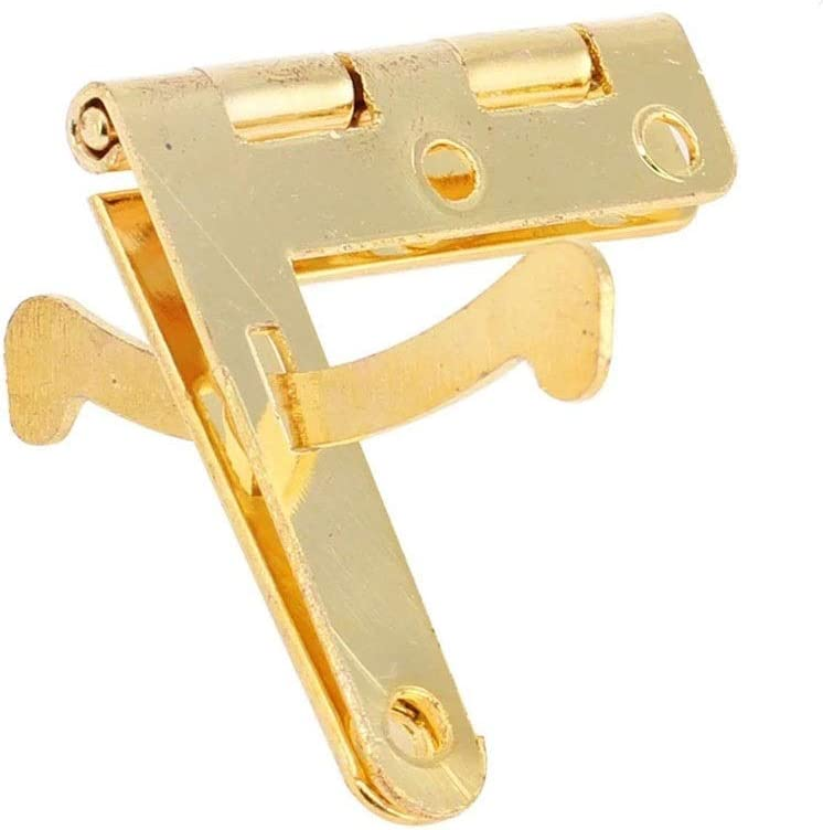 ZLDCTG Max Ranking TOP18 76% OFF 50Pcs 90° Angle Support Small Hinge Jew Hinges for Box