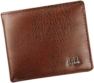 Rambling New RFID Blocking Bifold Mens Business Leather Wallet With ID Window, High-End Build