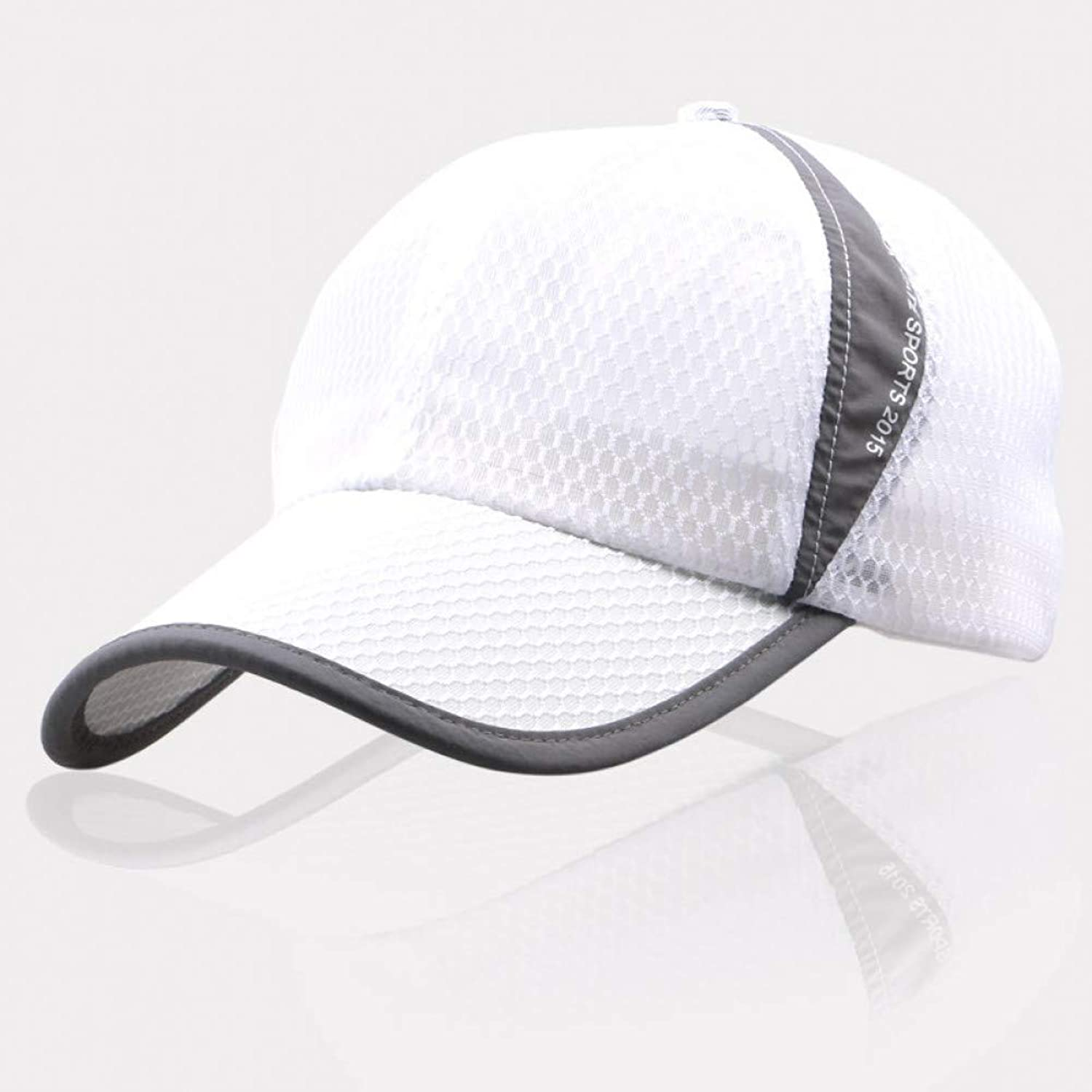 JINRMP Spring Summer Baseball Caps Men Women Snapback Caps Quick Dry Sun Hat Visor Bone Breathable Casual Mesh Male Running