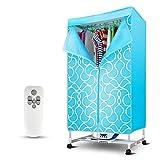 QL Asciugatrice elettrica per Uso Domestico, asciugatrice ad Alta efficienza per Riscaldamento a sterilizzazione UV, Impermeabile e Antipolvere, Protezione della Temperatura