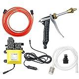 CarBole Pompa Acqua Alta Pressione Pompa Lavaggio elettrica 12 V 120 W Pompa Lavaggio Auto Pompa irroratrice elettrica