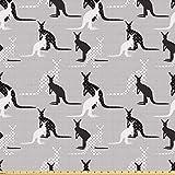 ABAKUHAUS Känguru ausdehnbar mit Elestan für