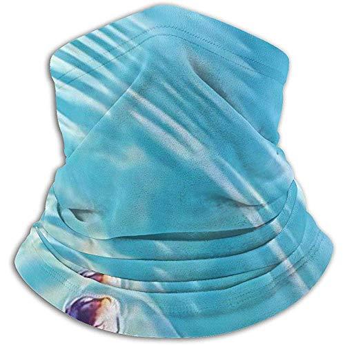 Giles John Cute Little Sea Turtle Swim Neck Warmer Gaiter Pasamontañas Máscara De Esquí Clima Frío Mascarilla Sombreros De Invierno Sombreros Sombreros