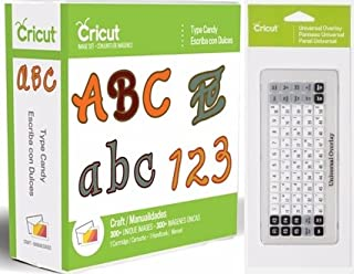 Cricut Type Candy Cartridge + Universal Keypad Overlay