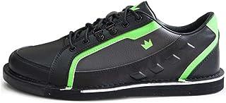 Brunswick 男式 Punisher 保龄球鞋 右手 - 黑色/霓虹绿