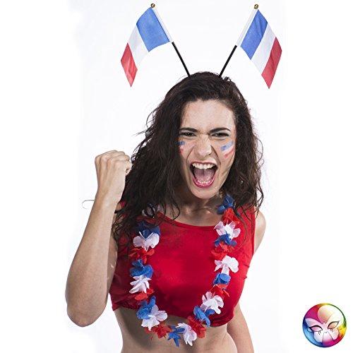 Diadème Serre-tête Drapeaux France