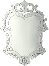 HUIHUOZI Exquisite Goods Makeup Mirror Carved Wall Mirror Wall Mirror Bathroom Mirror Bedroom Hanging On The Wall Mirror L...