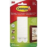 Command 17206 picture strip, detachable, 7200 g, 4 sets of 2 stripes, size L, white
