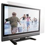 ロアス 37インチ対応 液晶テレビ保護パネル 透明色 表面アンチグレア加工 帯電防止仕様 パネル厚さ3.8mm LCG-037AG