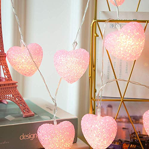 N\C Led String Girl's Love Lamp String LED Battery Box Wedding Party Decorative Lantern Pendant Easter Christmas Valentine's Day