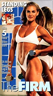 The Firm - Firm Parts: Standing Legs / 34 Minute Staning Leg & Hip Workout with Salina Bartunek [VHS Tape]