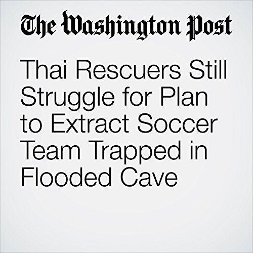 Thai Rescuers Still Struggle for Plan to Extract Soccer Team Trapped in Flooded Cave copertina