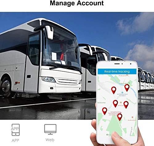 TKSTAR GPS Tracker, 3G GPS Tracker para Vehículos, Fuerte Imán en Tiempo Real GPS Rastreador de Coche Antirrobo Alarma Dispositivo de Seguimiento para Motocicleta Camiones Soporte Android e iOS (915 3G)