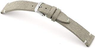 RIOS1931 Hudson Bracelet de montre en cuir Suede fabriqué à la main en Allemagne classique