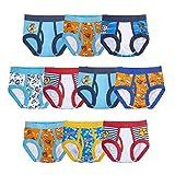 PAW PATROL Boys' Underwear Multipacks, Paw Tb 10pk Bri, 2T/3T