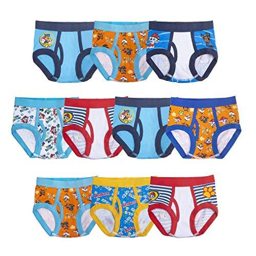 Paw Patrol Boys' Underwear Multipacks, Paw Tb 10pk Bri, 4T