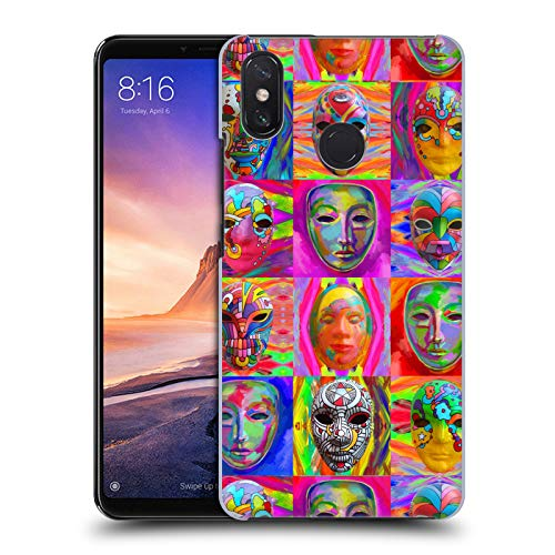 Officiële Howie Green Pop Art Maskers Carnaval Hard Back Case Compatibel voor Xiaomi Mi Max 3