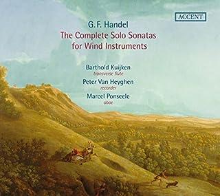 Handel: Complete Solo Sonatas for Winds by Barthold Kuijken