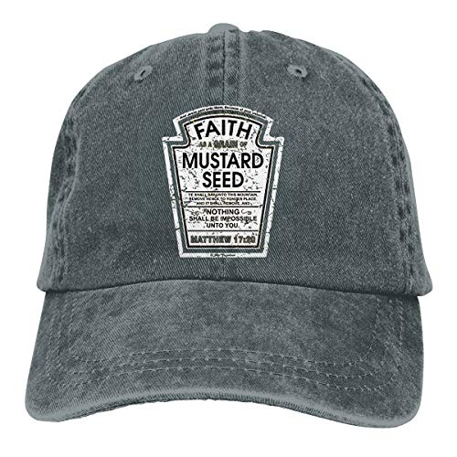 Heinz Ketchup Adjustable Cowboy Hat Cap Deep Heather